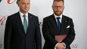 Andrzej Duda i Łukasz Szumowski