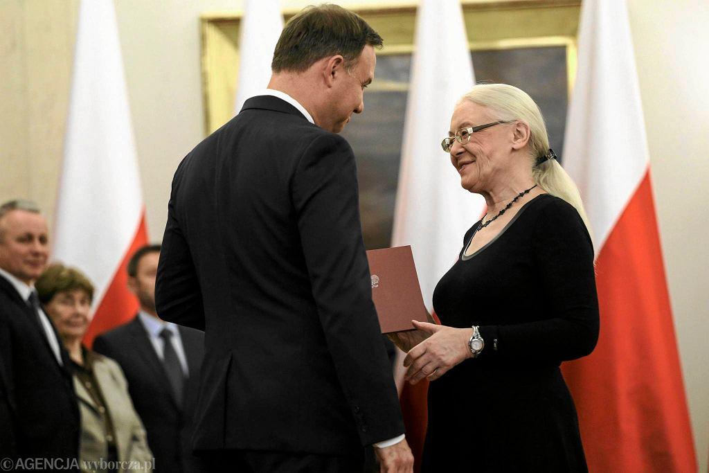Prof. Grażyna Ancyparowicz