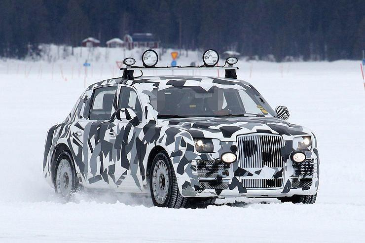 Prototyp nowej limuzyny Putina