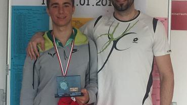 Konrad Fryze (z lewej) udanie wypadł na turnieju w Austrii