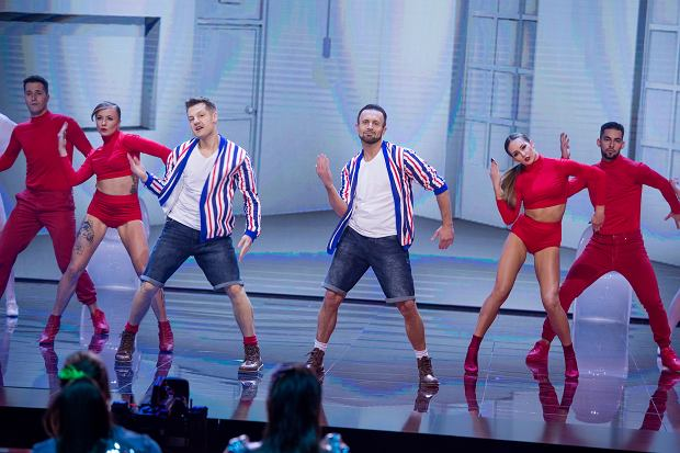 Przemysław Cypryański i Rafał Mroczek w 'Dance Dance Dance'