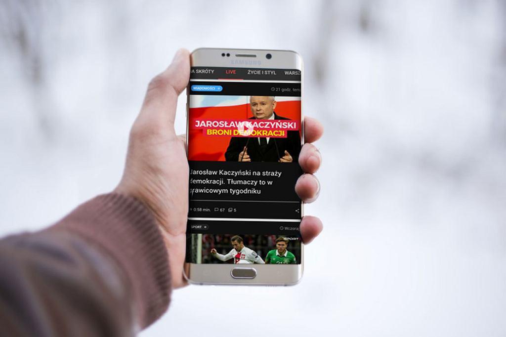 Prędkość internetu mobilnego w Polsce jest na średnim poziomie