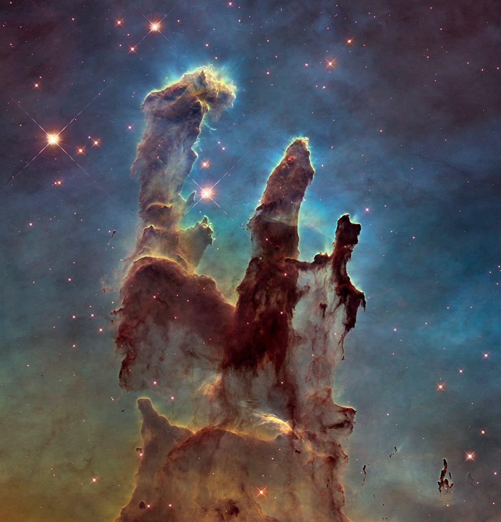 'Filary Stworzenia' w Mgławicy Orła