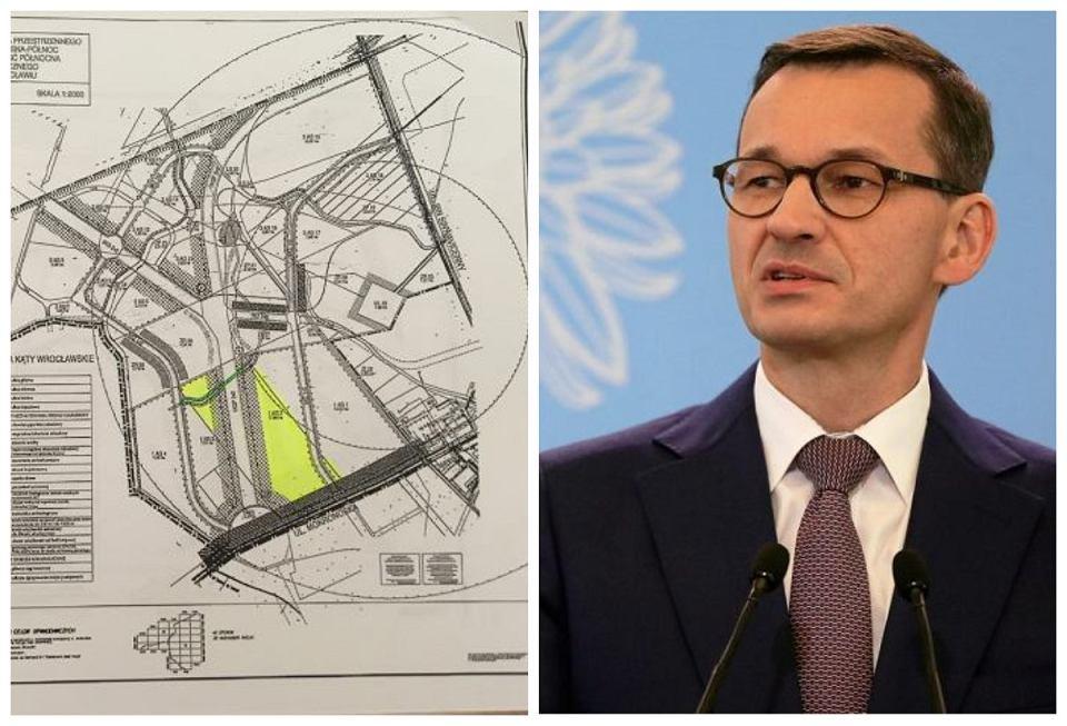 Na konferencji Mateusz Morawiecki sugerował, że w okolicy gruntów posiadanych przez jego żonę mało co się inwestycyjnie dzieje. Tymczasem działka jest położona na silnie rozwijającym się terenie, niedaleko autostrady i lotniska