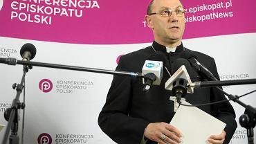 XKonferencja prasowa po posiedzeniu w siedzibie Konferencji Episkopatu Polski w Warszawie