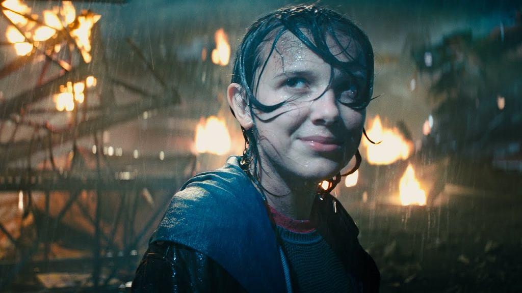 Millie Boby Brown w filmie 'Godzilla: Król potworów'