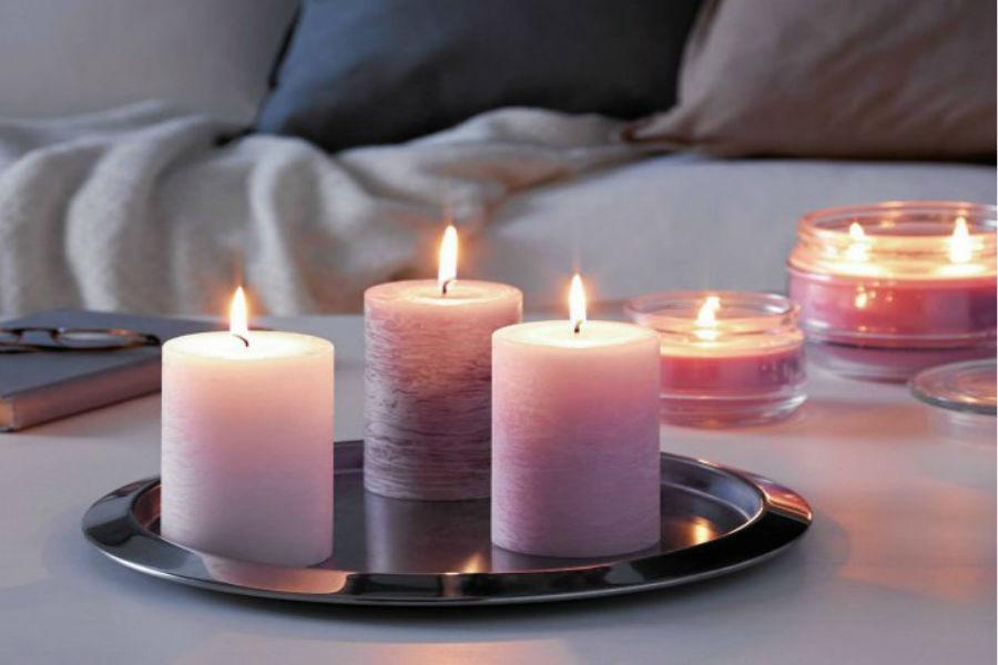 Świece i świeczki zapachowe - romantyczny klimat