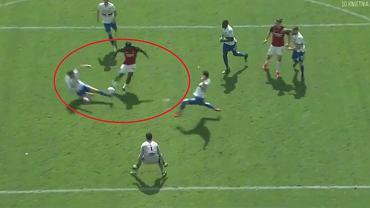 Kluczowy wślizg Bartosza Bereszyńskiego w meczu z AC Milan