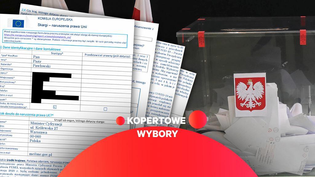 Poczta Polska otrzymała dane wyborców. Polski adwokat składa skargę do KE