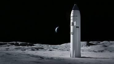 SpaceX dostał kontrakt NASA na misje księżycowe