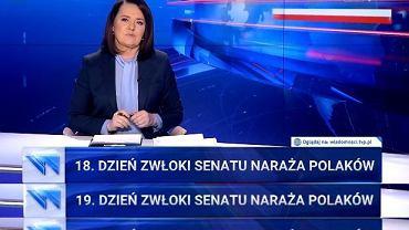 'Wiadomości' o Senacie - paski