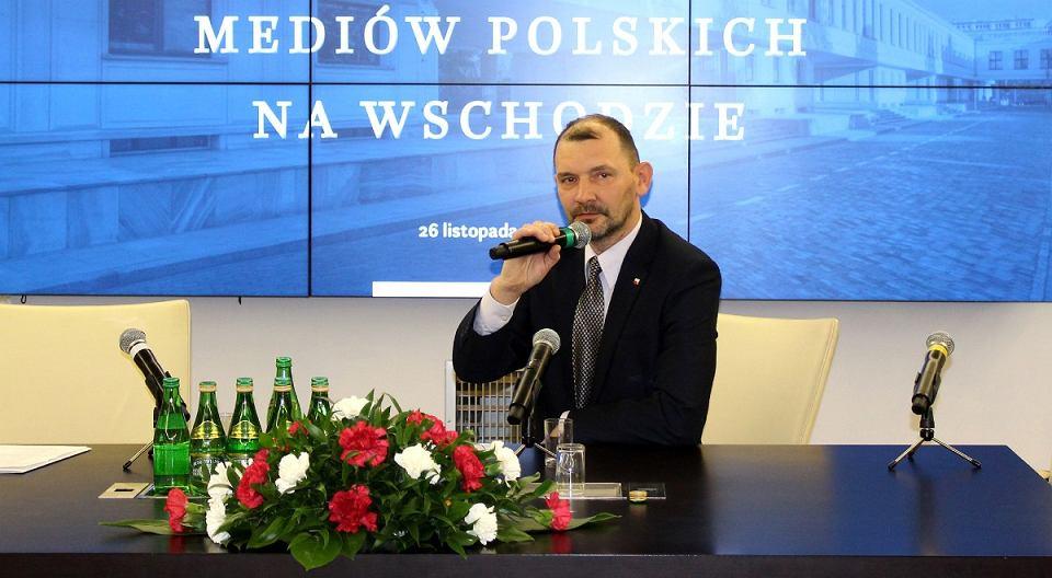 Andrzej Pisalnik, dziennikarz, członek Związku Polaków na Białorusi