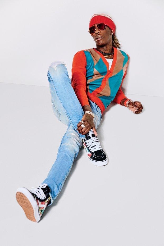Zdjęcie numer 4 w galerii - Młody gniewny - zobacz sesję Young Thuga dla