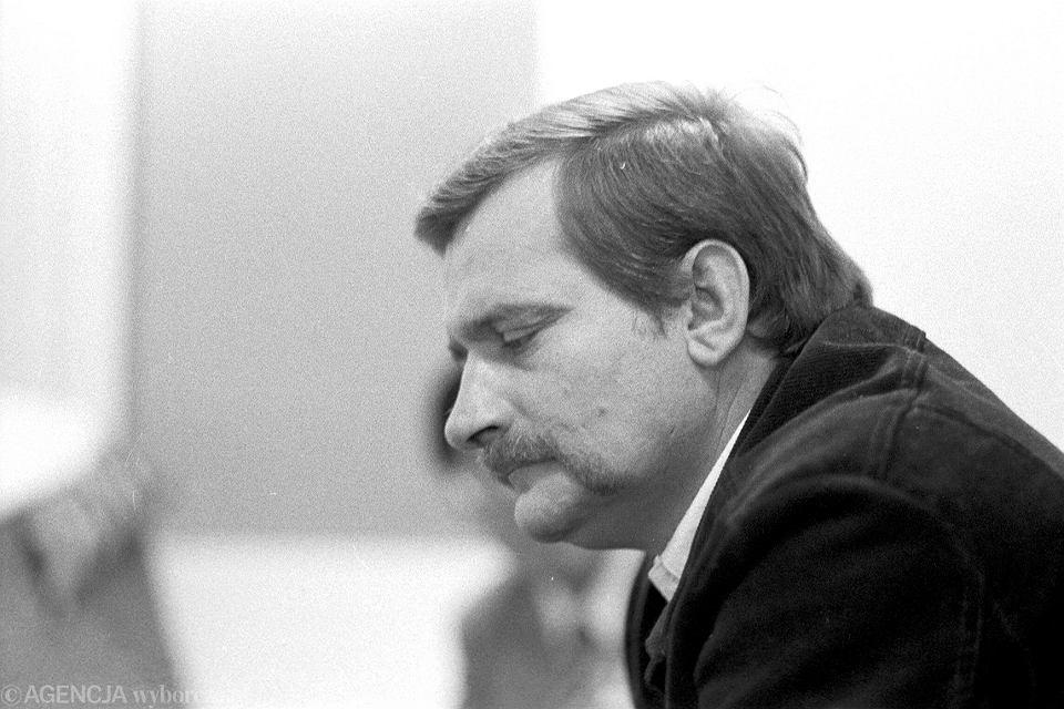 Lech Wałęsa. Gdańsk Oliwa, 1981 r.