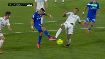 Kontrowersja w meczu Getafe - Real Madryt