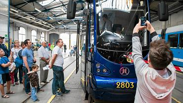 Dzień Otwarty MPK w Zajezdni Tramwajowej Borek