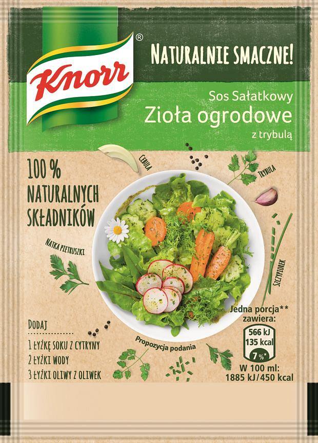 Sos sałatkowy Zioła ogrodowe Naturalnie Smaczne Knorr