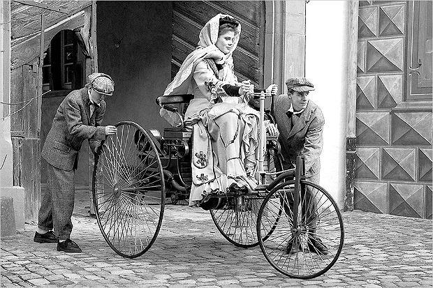 Bertha i Patent-Motorwagen