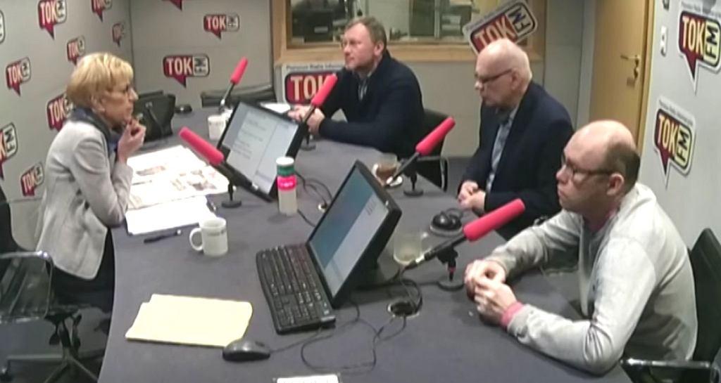 Janina Paradowska, Bogusław Chrabota, Adam Szostkiewicz i Agaton Koziński