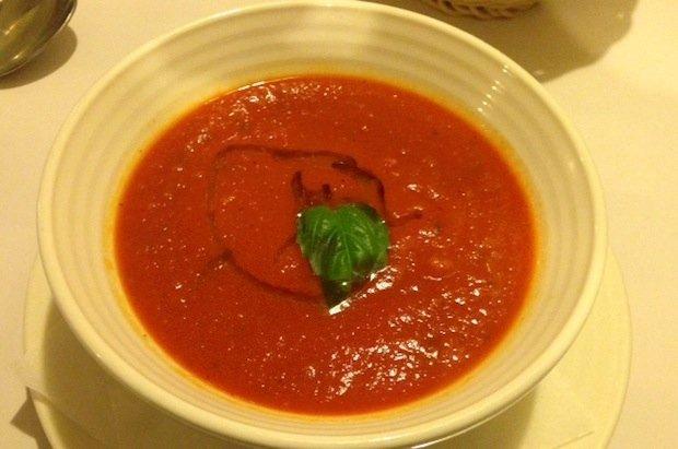 Krem z pomidorów w Gamberorosso