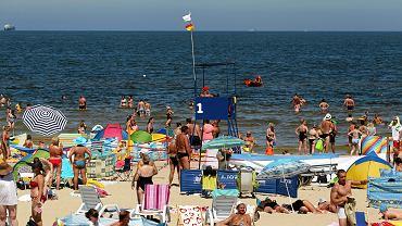 Plaża w Świnoujściu. Zdjęcie ilustracyjne