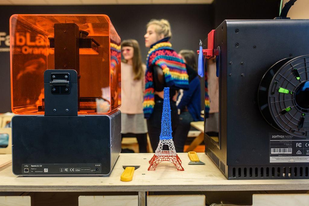 Drukarka 3D w FabLab powered by Orange