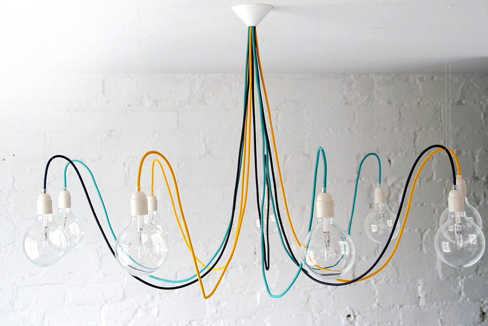 Lampa Medusa XL, proj. CablePower