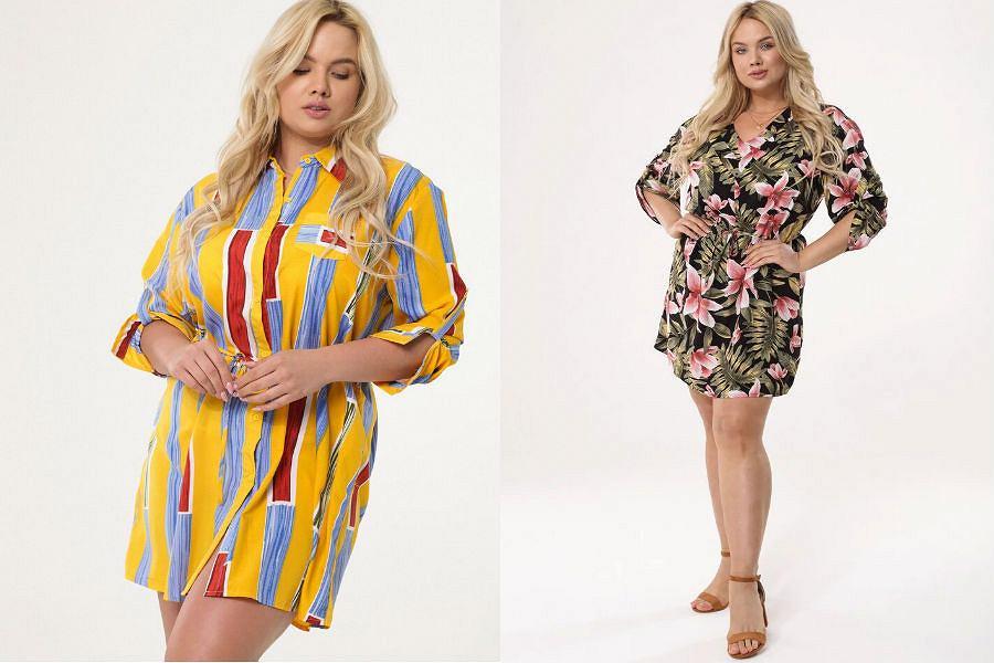 Sukienki letnie tanie duże rozmiary