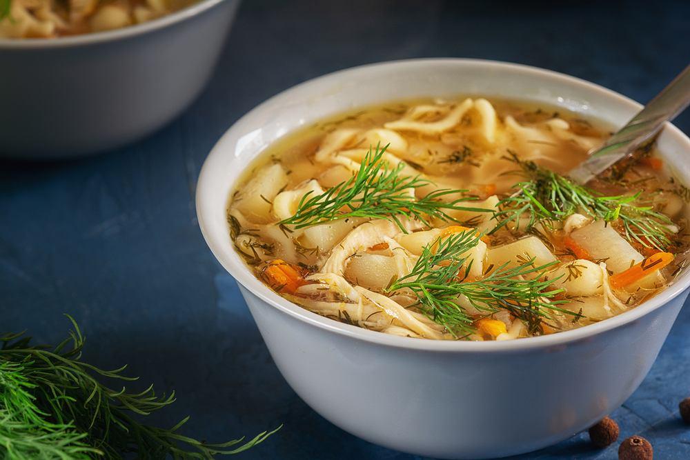 Zupa koperkowa - lekka i pachnąca.