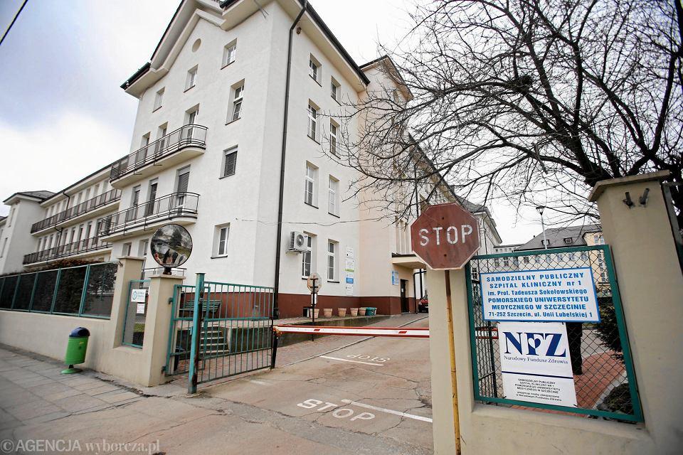 Samodzielny Publiczny Szpital Kliniczny Nr 1 PUM przy ul. Unii Lubelskiej w Szczecinie