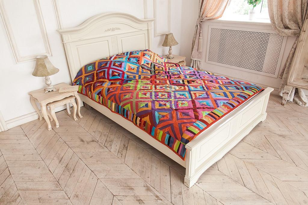 Patchworkowa kapa na łóżko