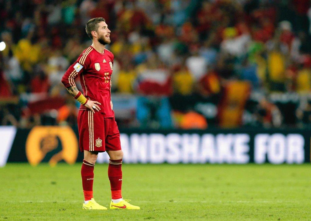 Załamany Sergio Ramos po odpadnięciu z MŚ