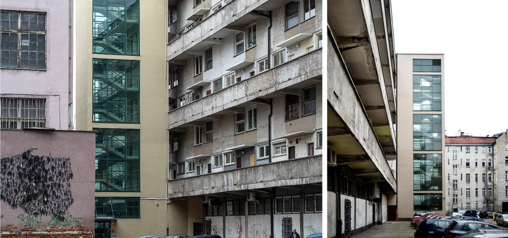 Mieszkańcy od lat dokonywali zmian w obiekcie, bez konsultacji z architektami (fot. Filip Springer)