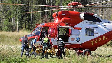 Akcja ratownicza TOPR i słowackiej HZS w Jaskini Wielkiej Śnieżnej