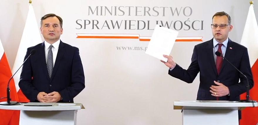 Zbigniew Ziobro i Marcin Romanowski
