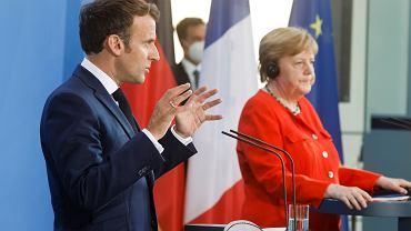 Koronawirus. Kraje UE otwierają granice. Angela Merkel i Emmanuel Macron ostrzegają