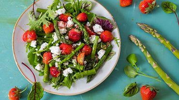 Szparagi - pomysł na obiad