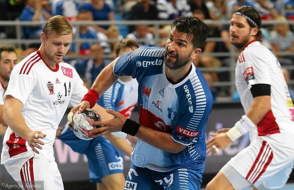 Liga Mistrzów, piłka ręczna. Orlen Wisła Płock - MKB-MVM Veszprem 27:27