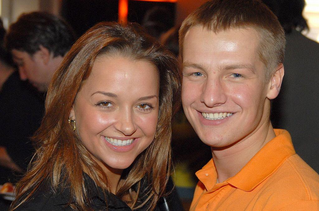 Aneta Piotrowska i Rafał Mroczek