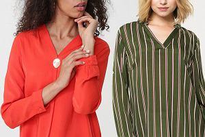 Koszule damskie w jesiennych kolorach