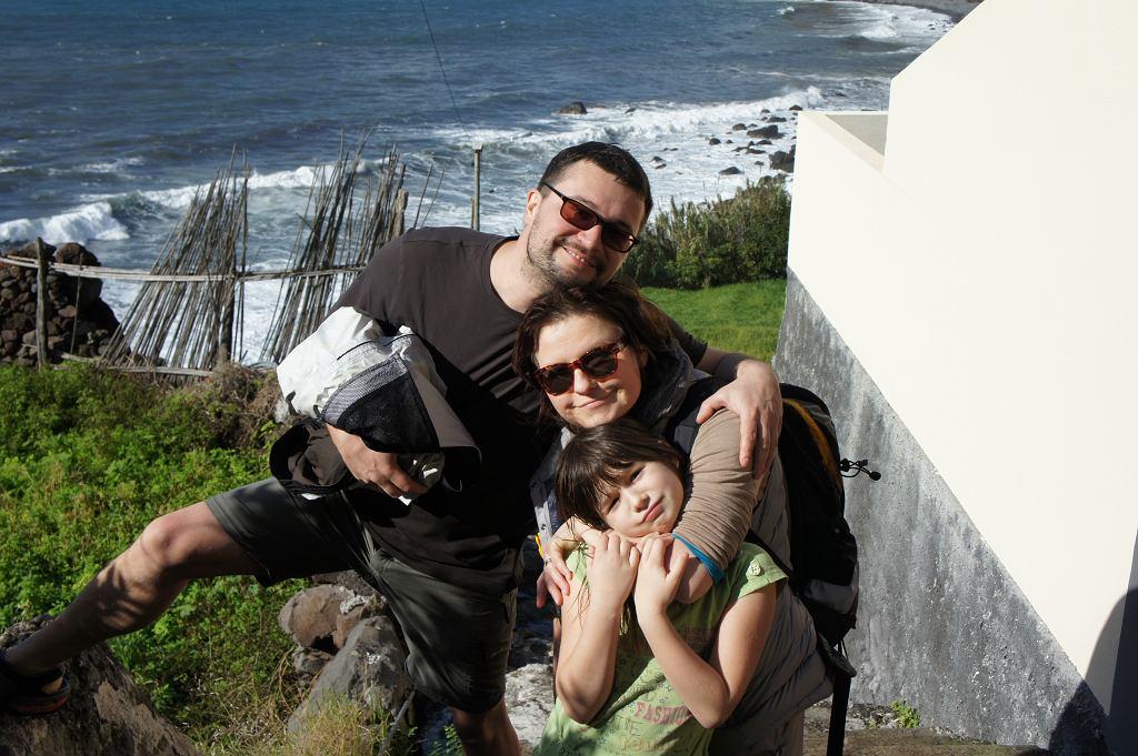 Ernest, Łucja i ich córeczka Nina