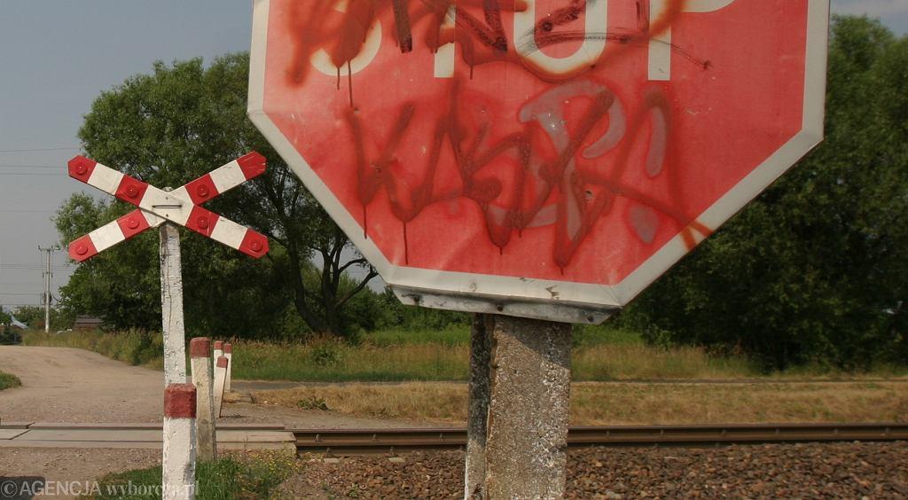 Przejazd kolejowy, zdj. ilustracyjne