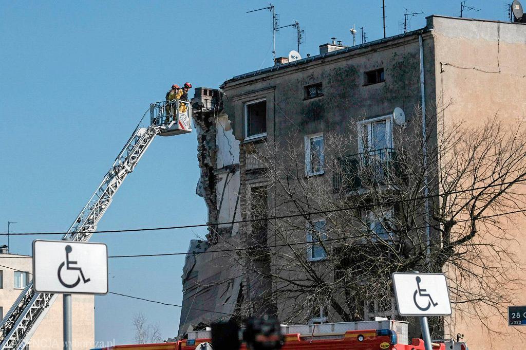 Poznań, zawalenie się części kamienicy przy ul. 28 Czerwca po wybuchu gazu
