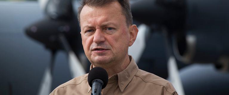"""Błaszczak: Czołgi Abrams będą broniły Warszawy w """"Bramie Smoleńskiej"""""""