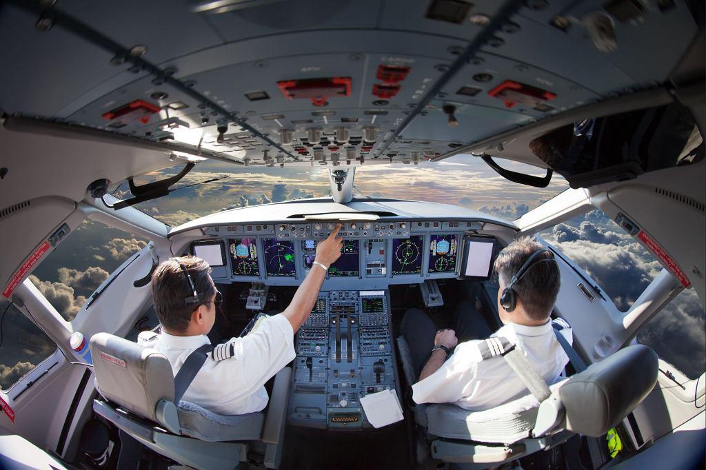 Pilot został zwolniony z pracy, ponieważ bał się latać