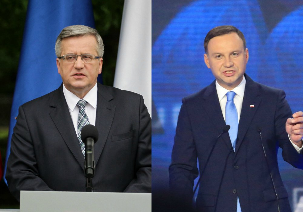 Bronisław Komorowski i Andrzej Duda