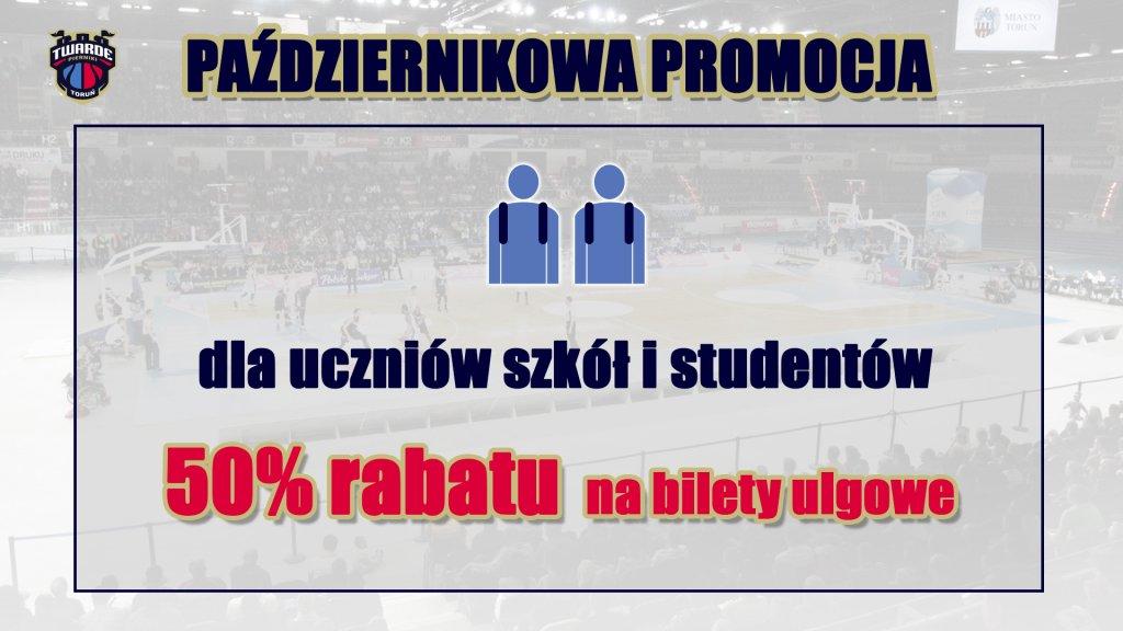 Promocja biletów na mecze Polskiego Cukru