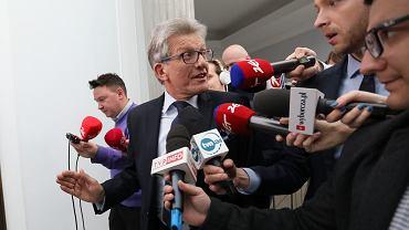 Poseł Stanisław Piotrowicz, 19 marca 2018.