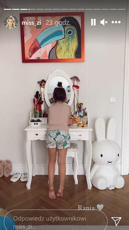 Pokój córki Zofii Ślotały