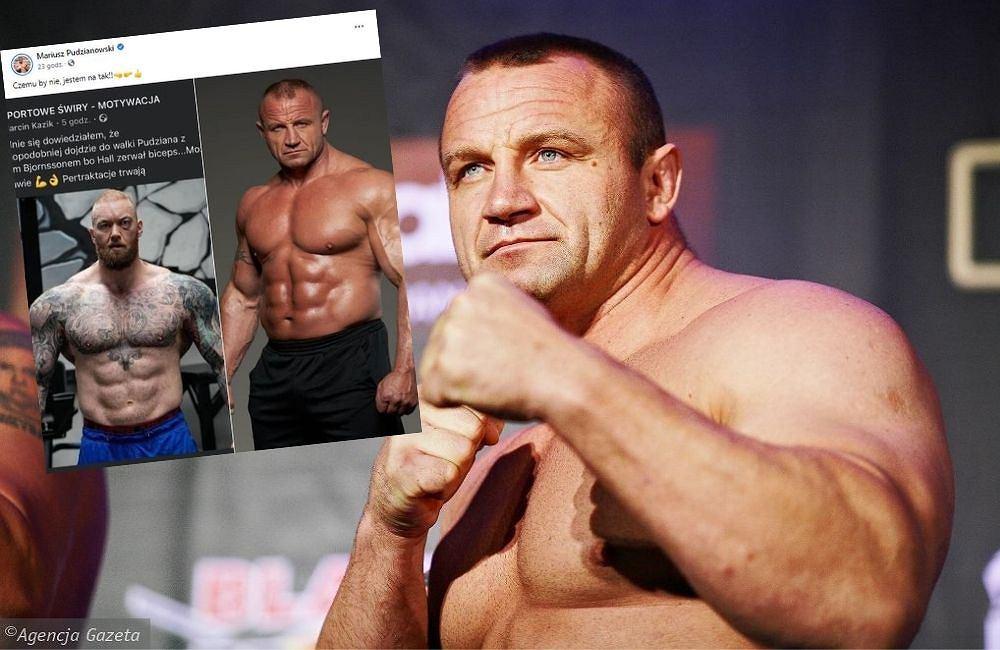 Pojedynek gigantów z udziałem Pudzianowskiego?! 'Czemu by nie, jestem na tak'